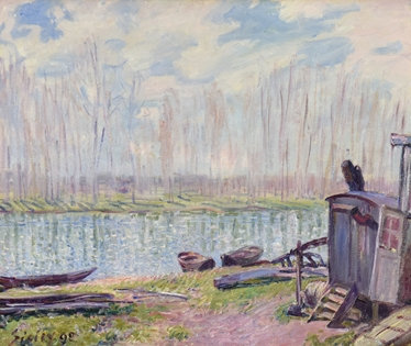 Alfred Sisley - Bords du Loing