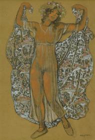 Georges Manzana Pissarro - Oriental Dancer