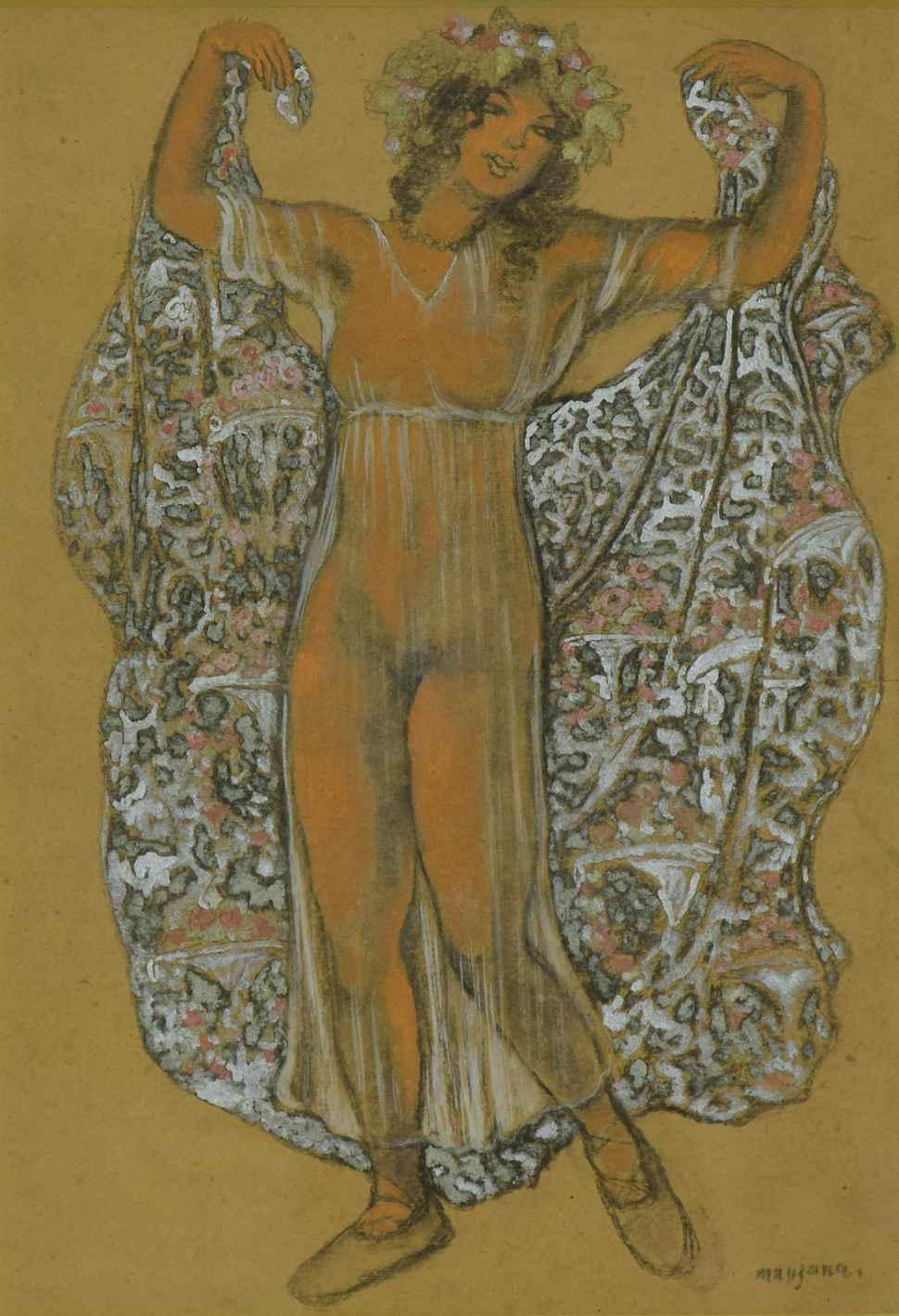 Oriental Dancer - Georges Manzana Pissarro (1871 - 1961)