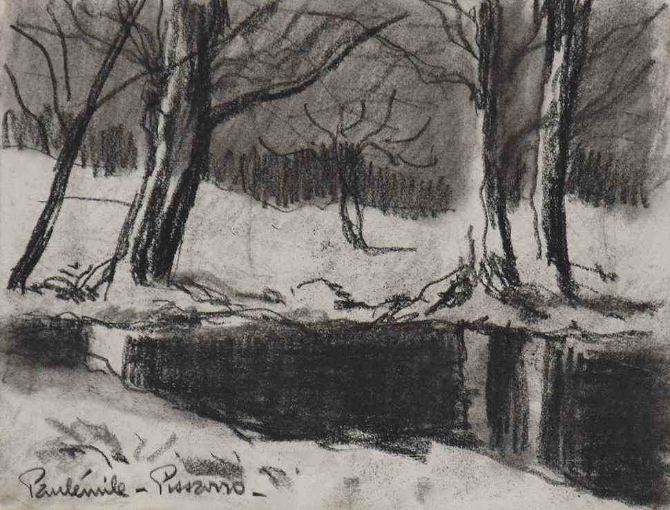 Bord de rivière - Paulémile Pissarro (1884 - 1972)