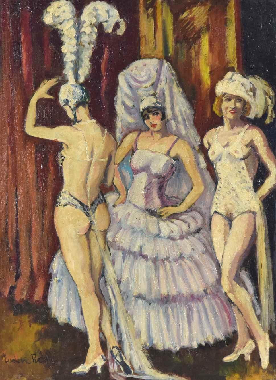 Cabaret Dancers - Ludovic-Rodo Pissarro (1878 - 1952)