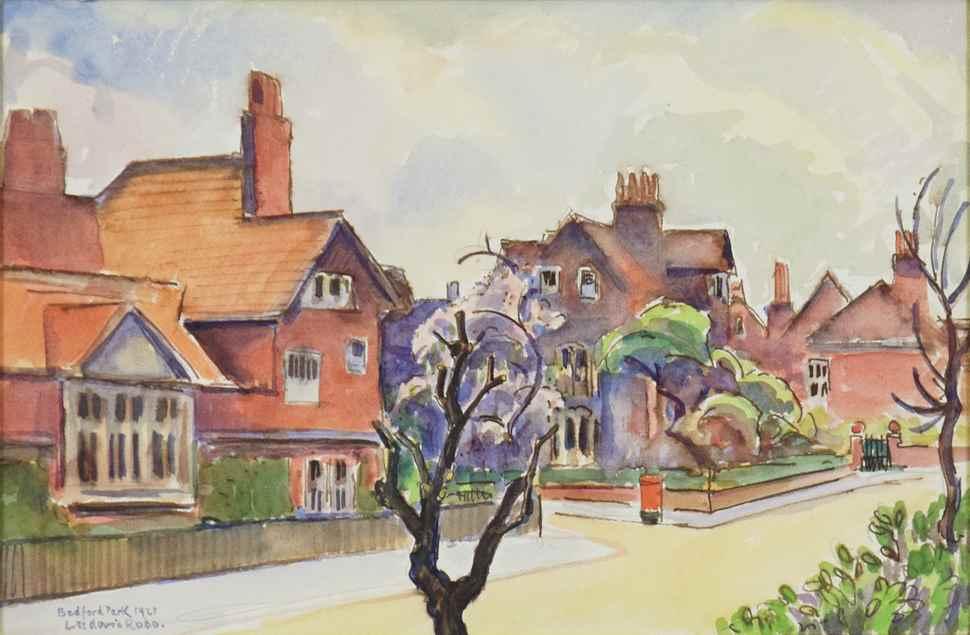 Bedford Park - Ludovic-Rodo Pissarro (1878 - 1952)