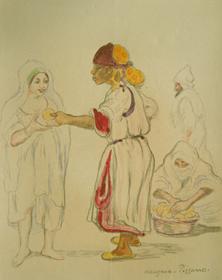 Georges Manzana Pissarro - Femmes Orientales