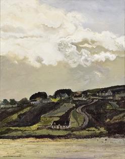 Hugues Pissarro dit Pomié - Route de Meenaclady, La Plage