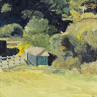 Le Poullailer de Kenneth (Milford, Donegal) - Hugues dit Pomié Pissarro (b. 1935 - )