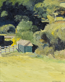Hugues Pissarro dit Pomié - Le Poullailer de Kenneth (Milford, Donegal)