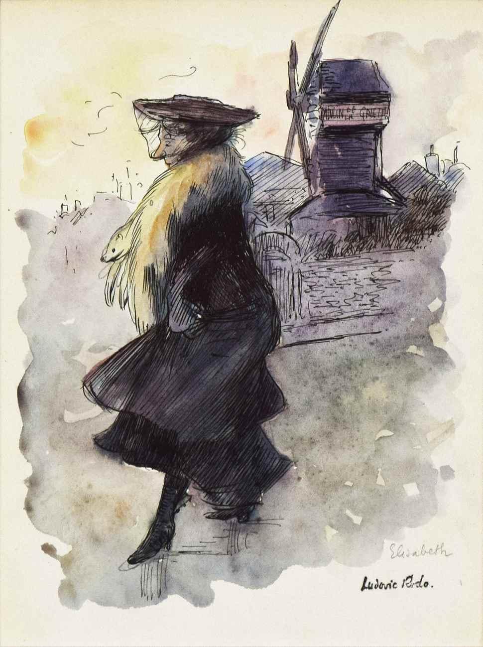 Le Moulin de la Galette - Ludovic-Rodo Pissarro (1878 - 1952)