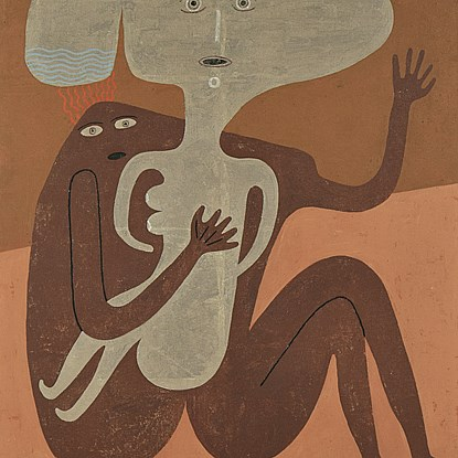 Accouplement d'Éléments - Victor Brauner (Piatra-Neamt, Romania 1903 - Paris, France 1966)