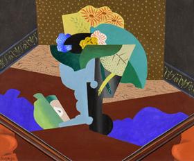 Léopold Survage - Nature Morte aux Fleurs