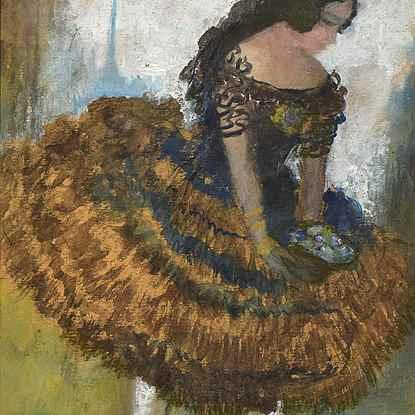 Flamenco Dancer - Roboa Pissarro (1878 - 1945)