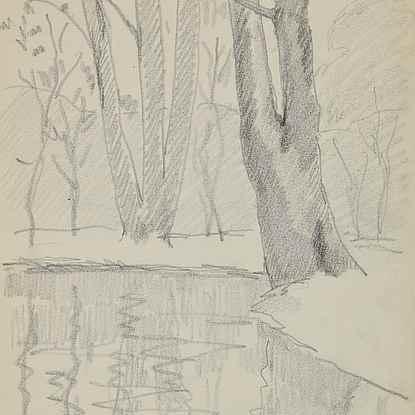 Bois de Boulogne - Paulémile Pissarro (1884 - 1972)
