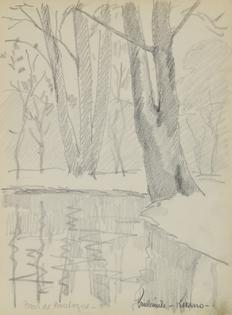 Paulémile Pissarro - Bois de Boulogne