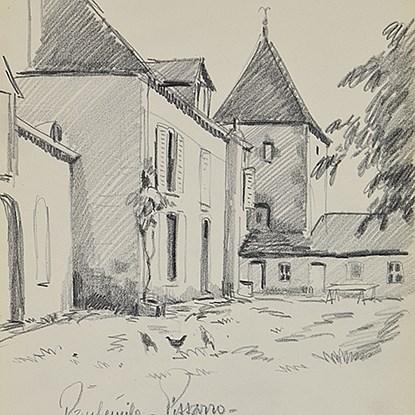 Sketchbook 32 - Page 57 - Paulémile Pissarro (1884 - 1972)