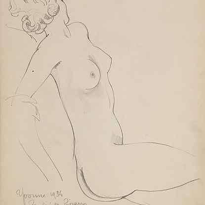 Yvonne Assise   - Paulémile Pissarro (1884 - 1972)