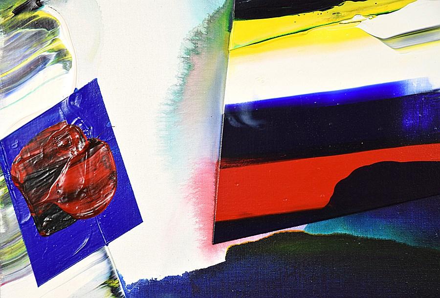 Phenomena Prism Shadow - Paul Jenkins (1923 - 2012)