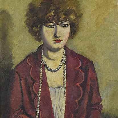 Le Collier de Perles - Ludovic-Rodo Pissarro (1878 - 1952)