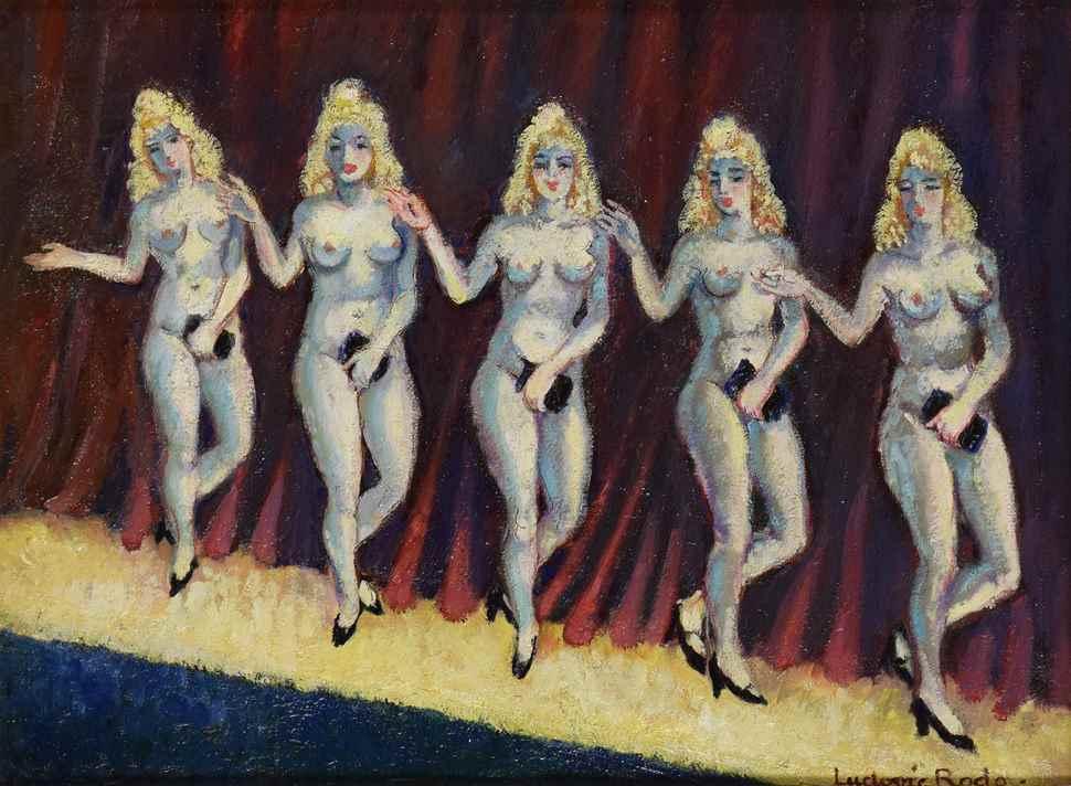 Cinq Sacs à Mains - Ludovic-Rodo Pissarro (1878 - 1952)