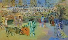 Jean Dufy - Corrida Espagnole