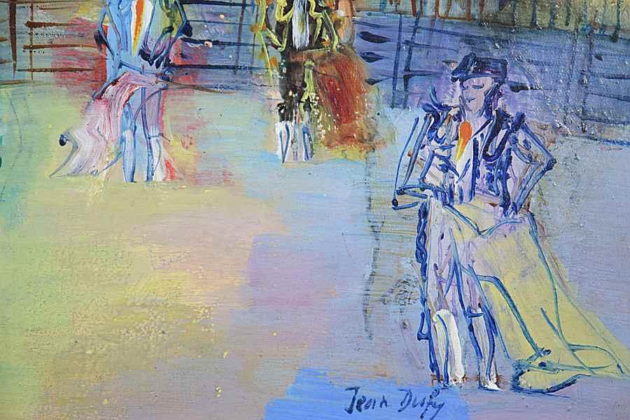 Corrida Espagnole - Jean Dufy (1888 - 1964)