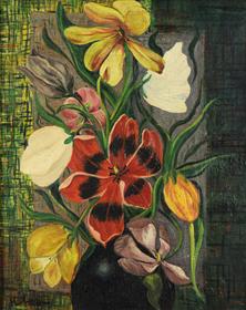 Moïse Kisling - Fleurs