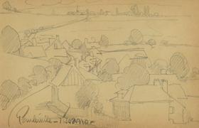 Paulémile Pissarro - Paysage