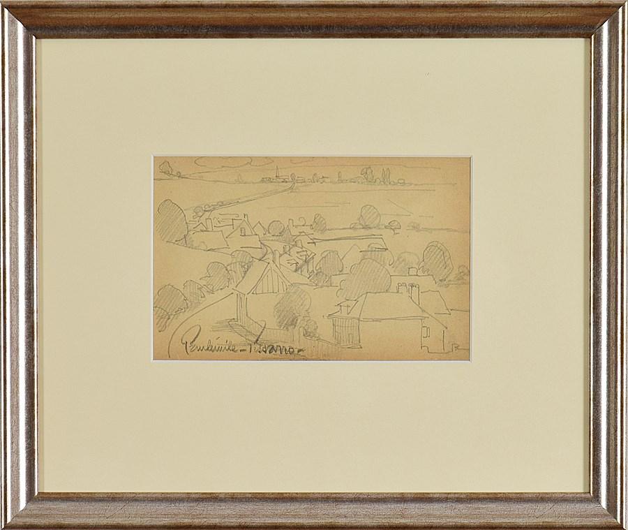 Paysage - Paulémile Pissarro (1884 - 1972)