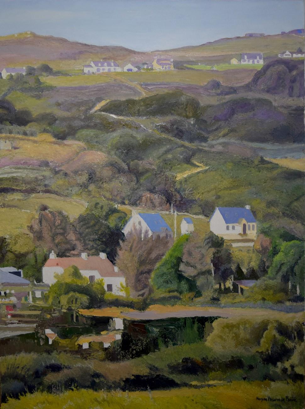 Jo & Jimmy Gallaher Farm and Upper Clendra - Hugues Pissarro dit Pomié (b. 1935 - )