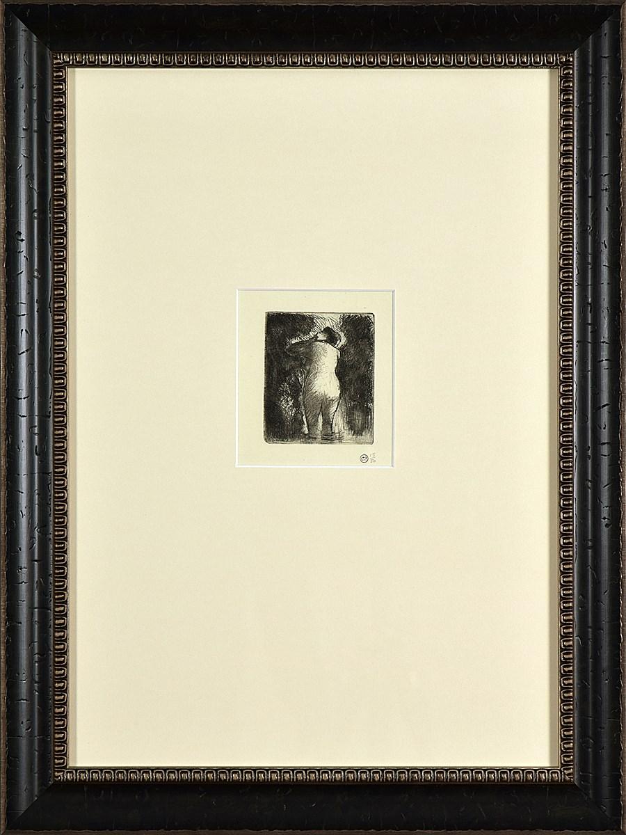 Baigneuse Vue de Dos - Camille Pissarro (1830 - 1903)