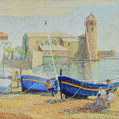Collioure - Yvonne Canu (1921 - 2008)