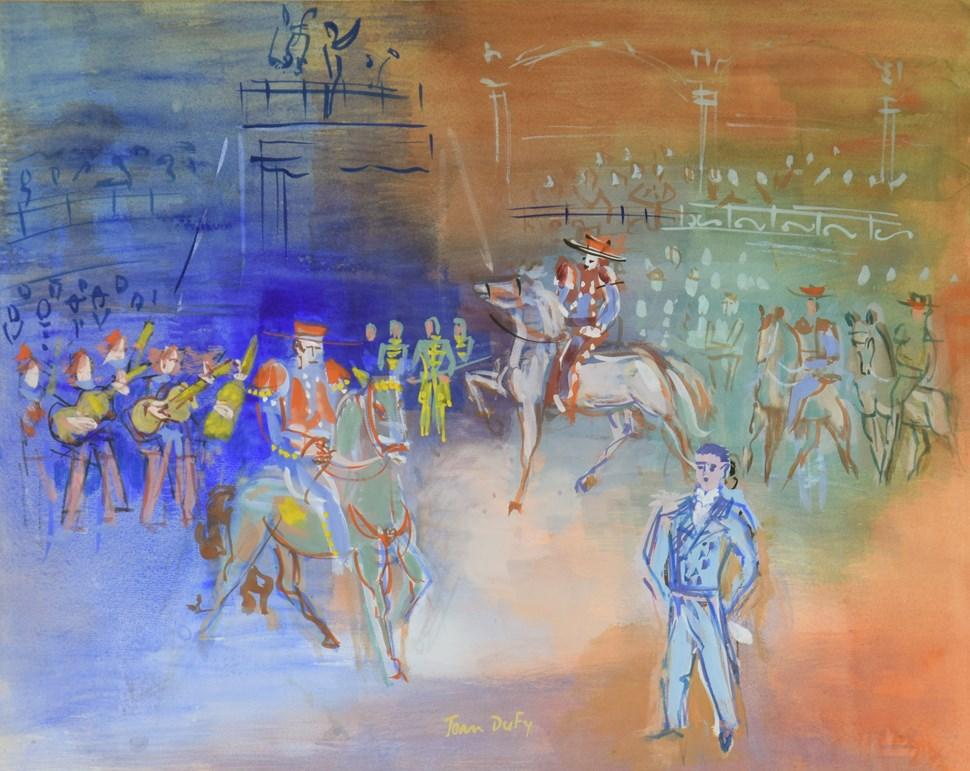 Parade Mexicaine - Jean Dufy (1888 - 1964)