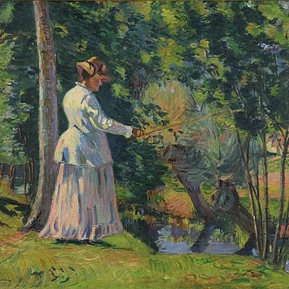 Madame Guillaumin Pêchant - Armand Guillaumin (1841 - 1927)
