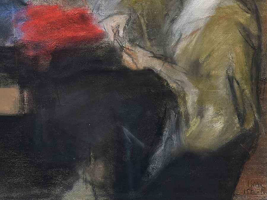 Seamstress at the Paquin Studio - Isaac Israëls (1865 - 1934)