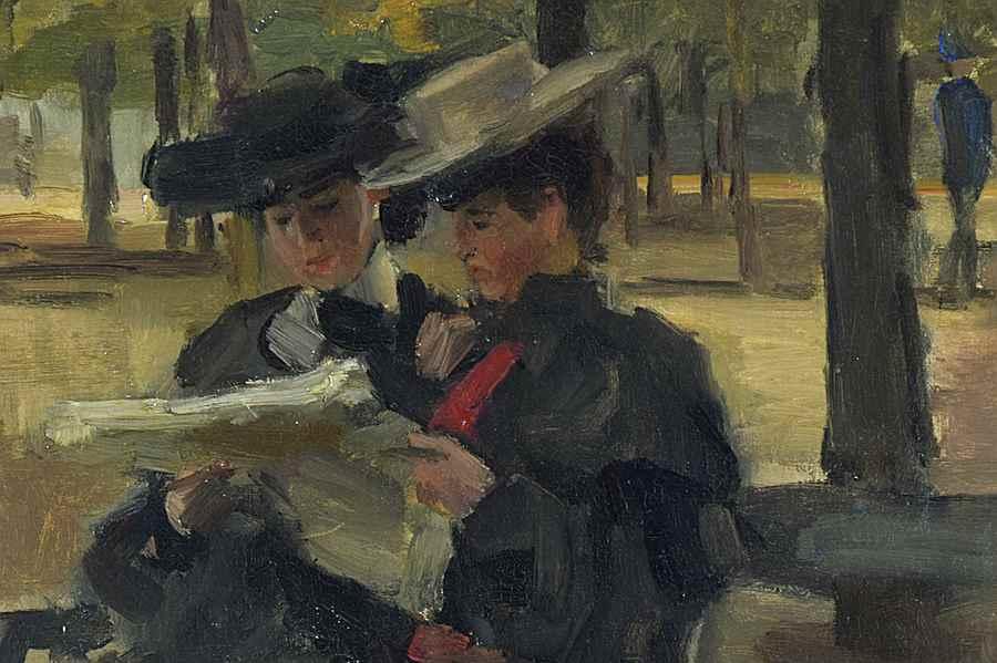 Bois de Boulogne - Isaac Israëls (1865 - 1934)