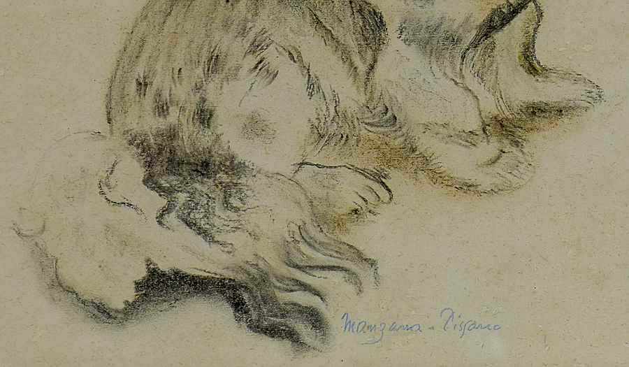 Le Pékinois - Georges Manzana Pissarro (1871 - 1961)