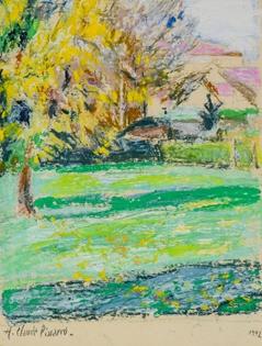 Hugues Pissarro dit Pomié - Paysage