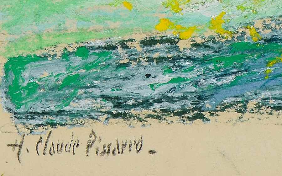 Paysage - Hugues Pissarro dit Pomié (b. 1935 - )