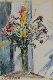 Hugues Pissarro dit Pomié - Fleurs