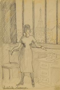 Paulémile Pissarro - Yvonne Pissarro, Paris