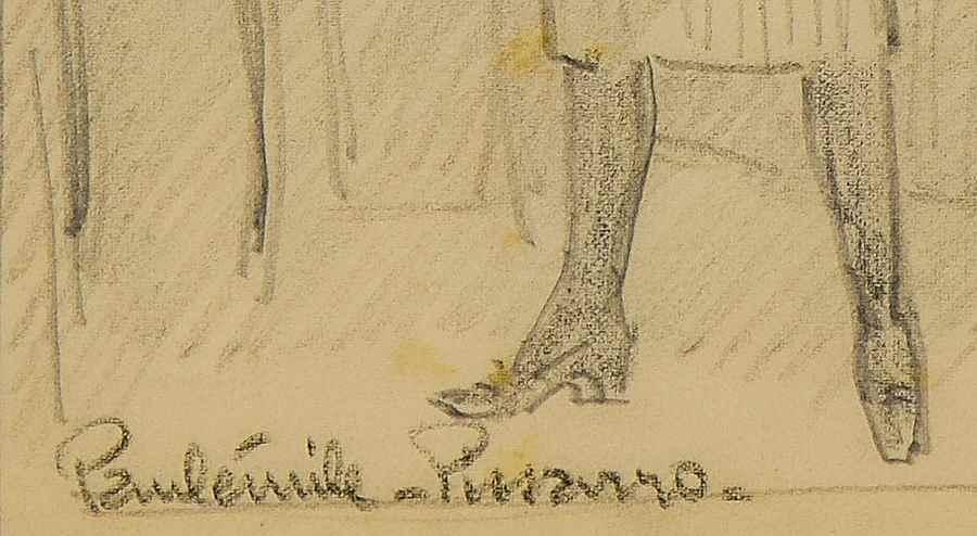 Yvonne Pissarro, Paris - Paulémile Pissarro (1884 - 1972)