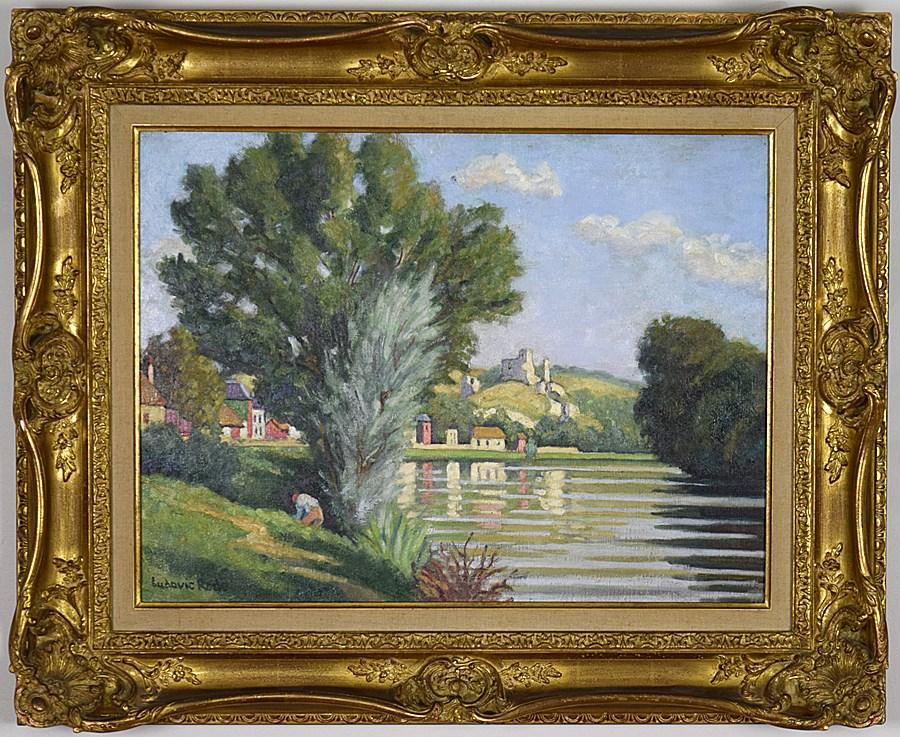 Chateau Gaillard, les Andelys - Ludovic-Rodo Pissarro (1878 - 1952)
