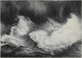Yvon Pissarro - Waves