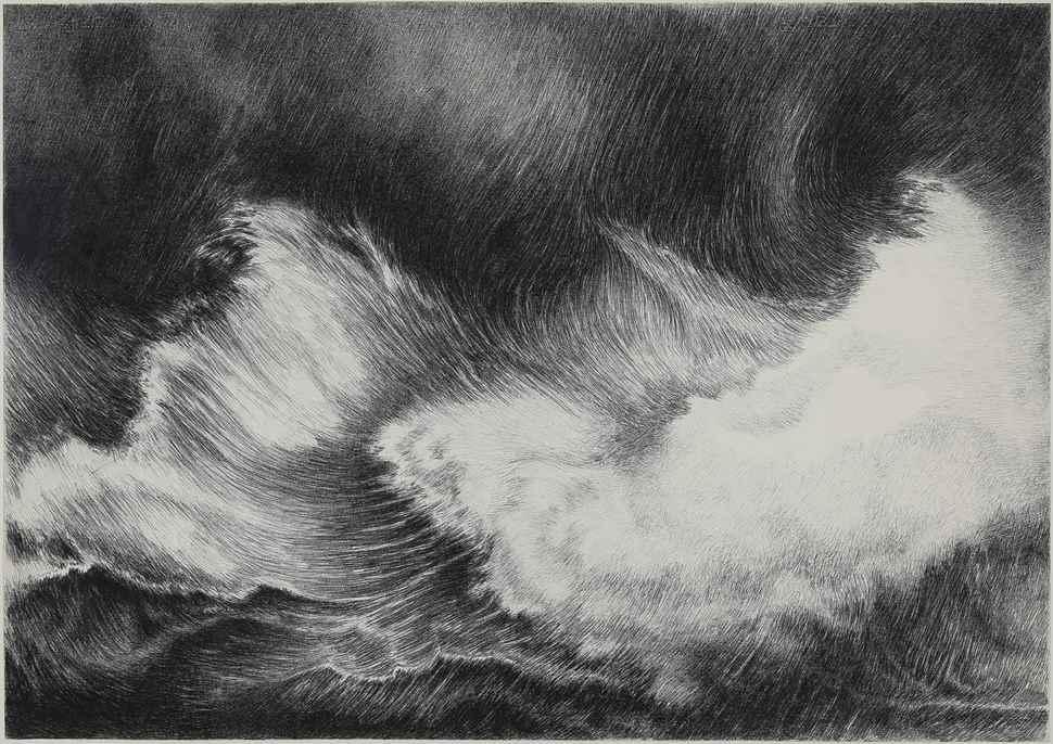 Waves - Yvon Pissarro (b. 1937 - )