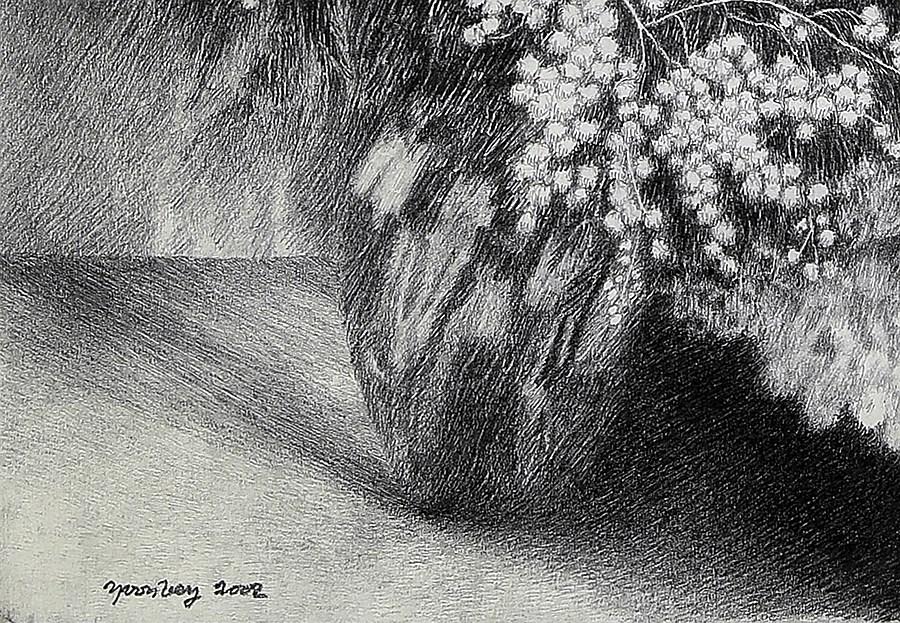 Mimosas - Yvon Pissarro (b. 1937)