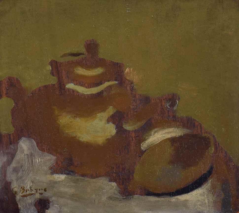 Théière et Citron  - Georges Braque (1882 - 1963)