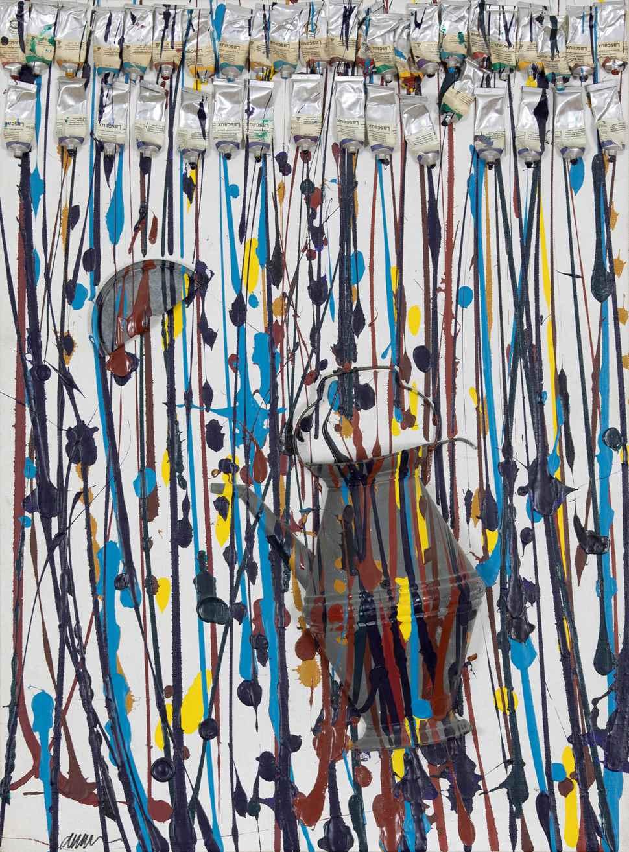 Accumulation - Arman (Armand Fernandez) (1928 - 2005)