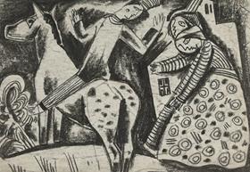 Béla Kádár - The Rider