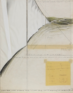 Christo - Running Fence (Project for Sonoma County and Marin County, State of California)