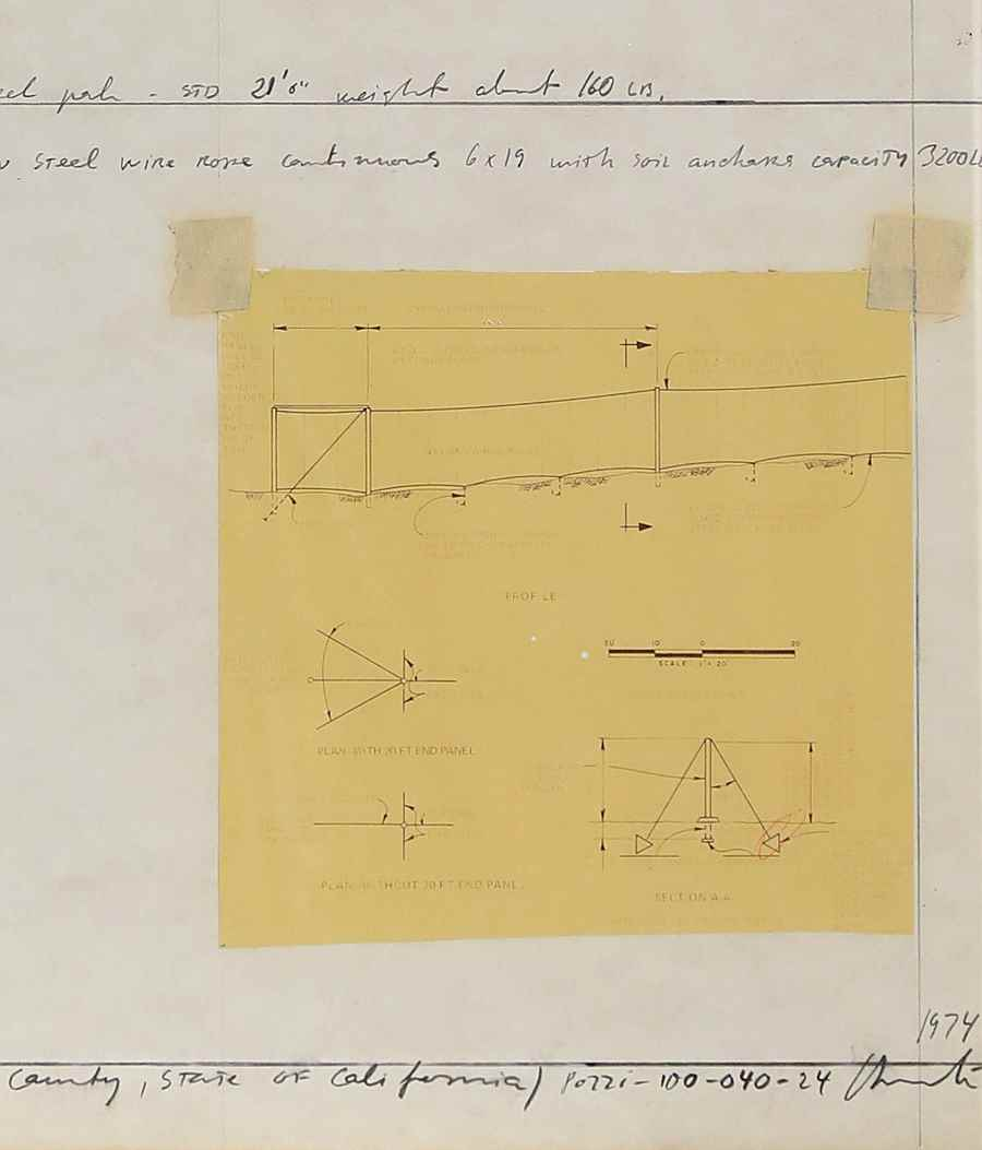 Running Fence (Project for Sonoma County and Marin County, State of California) - Christo (1935 - 2020)