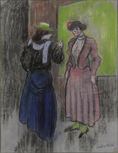 Ludovic-Rodo Pissarro - Parisian Ladies