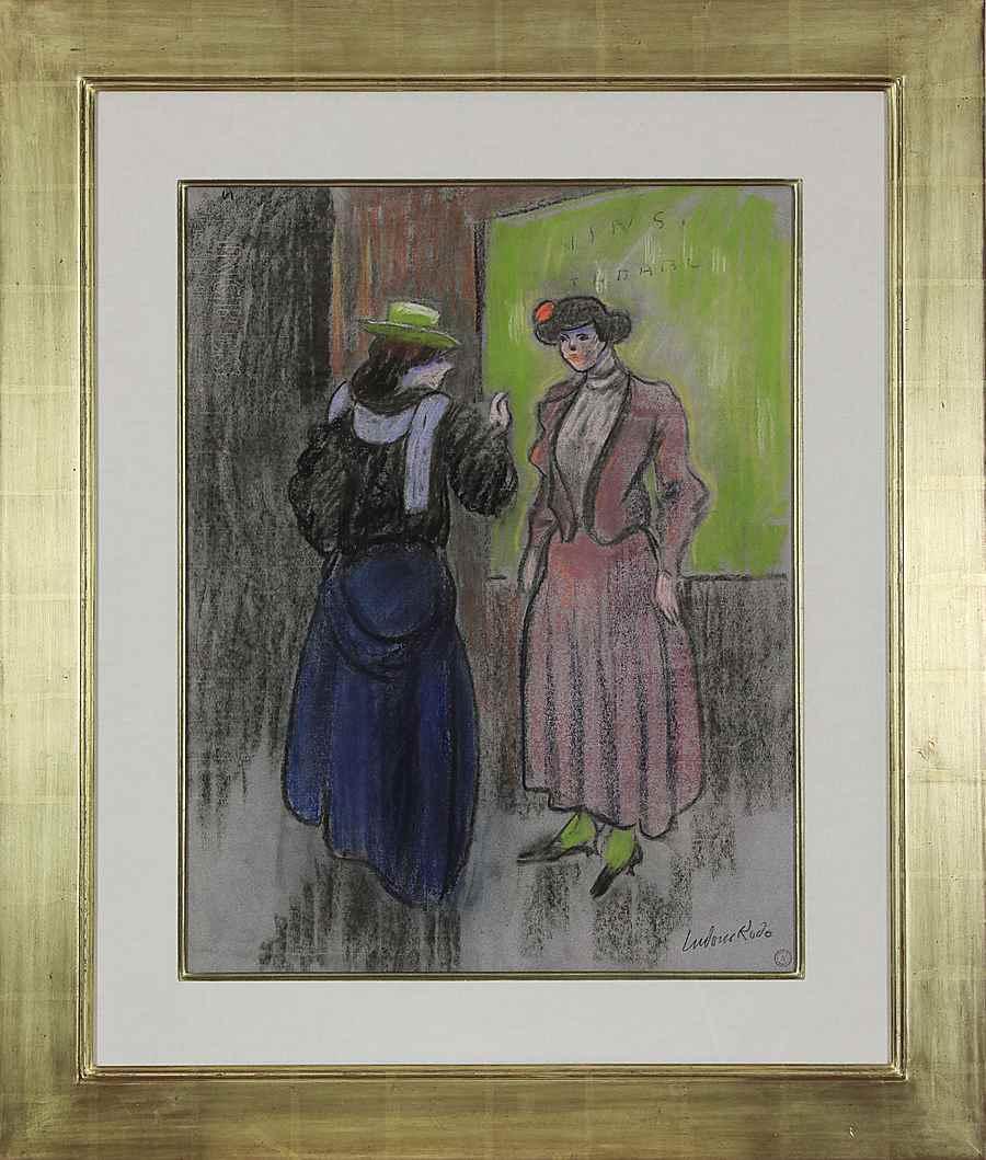 Parisian Ladies - Ludovic-Rodo Pissarro (1878 - 1952)